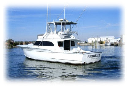 outer banks fishing charters Phideaux