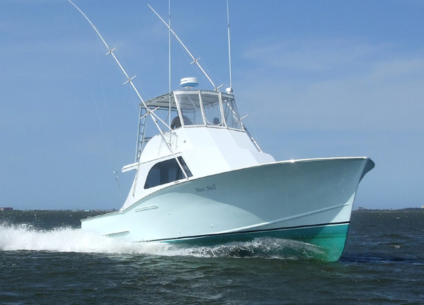 outer banks fishing charters Miss Nell
